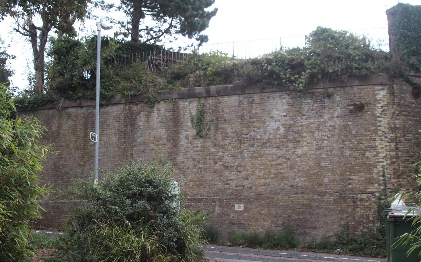 Sandgate Branch line Blackhouse Hill bridge