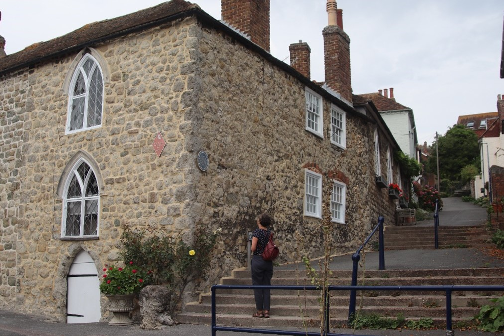 The centuries - oldest building in Hythe