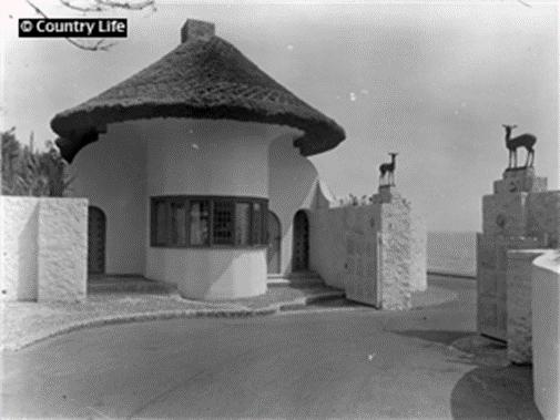 Encombe House gate house