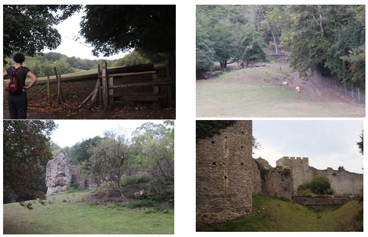 Walk from Blackhouse Hill to Sandgate Castle.