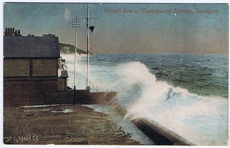 Sandgate Coast Guard Station about 1908