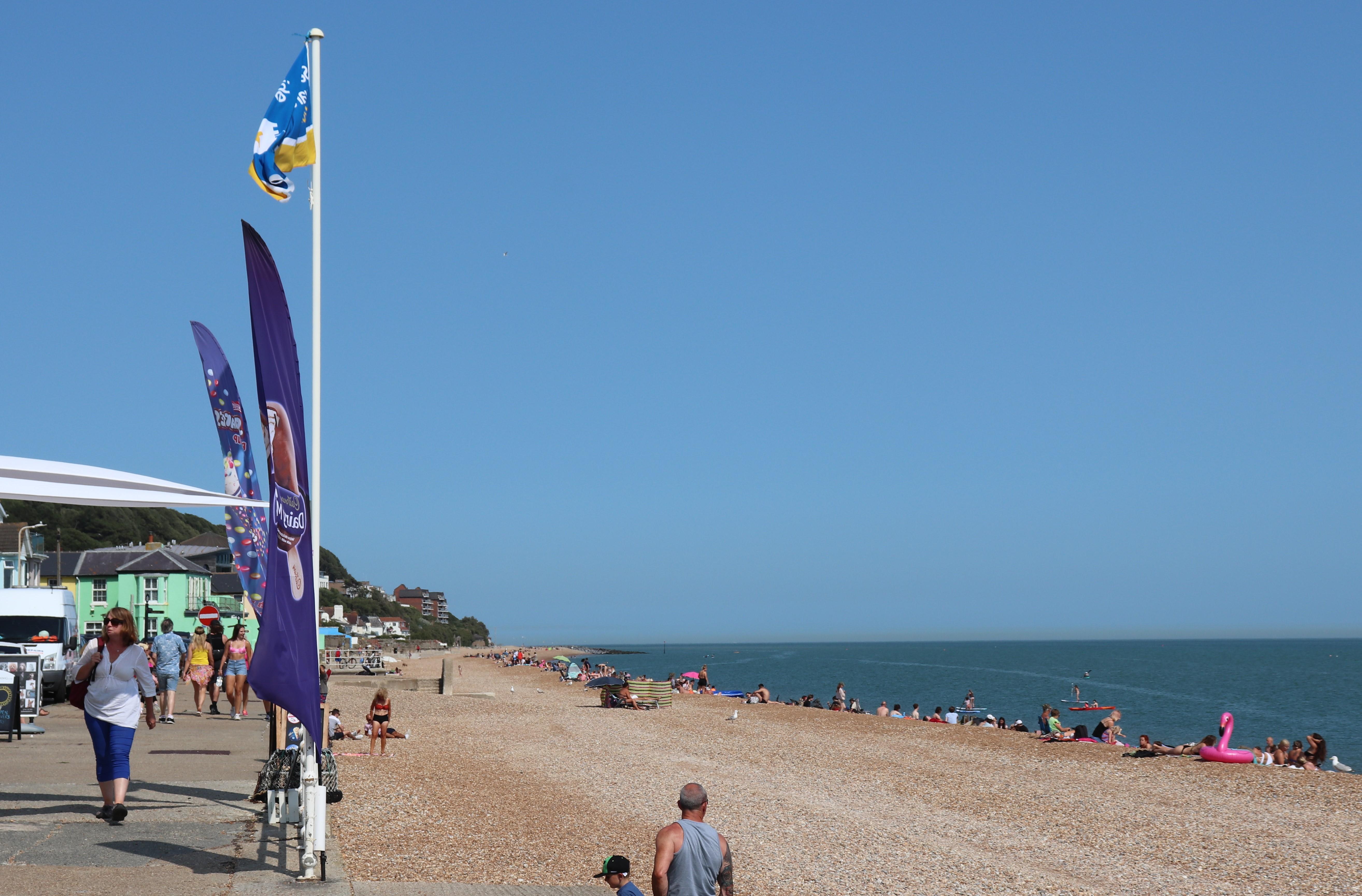 Sandgate Beach July 2020