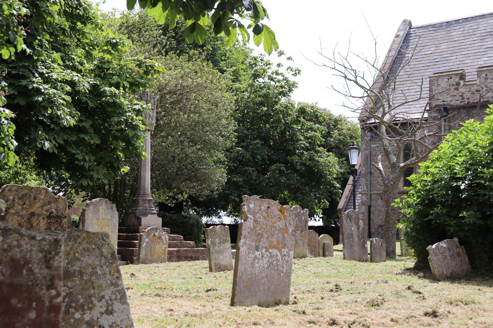 St eanswynne Church yard