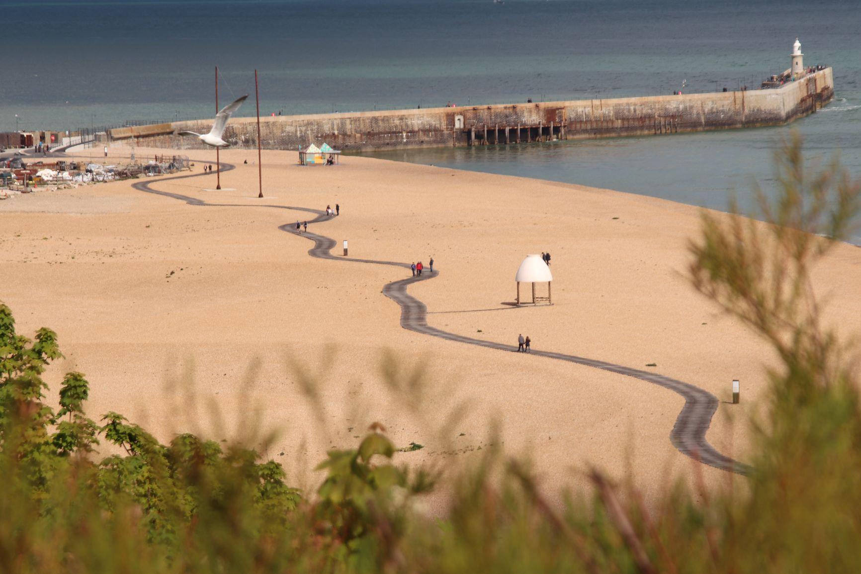Folkestone boardwalk