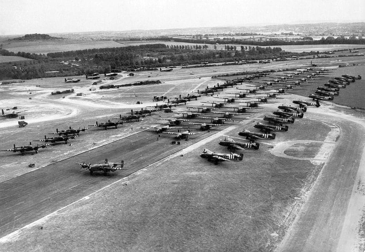 Tarrant Rushton Airfield in World War 2