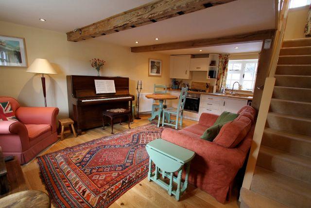 Open Plan Sitting Room with Welmar Piano