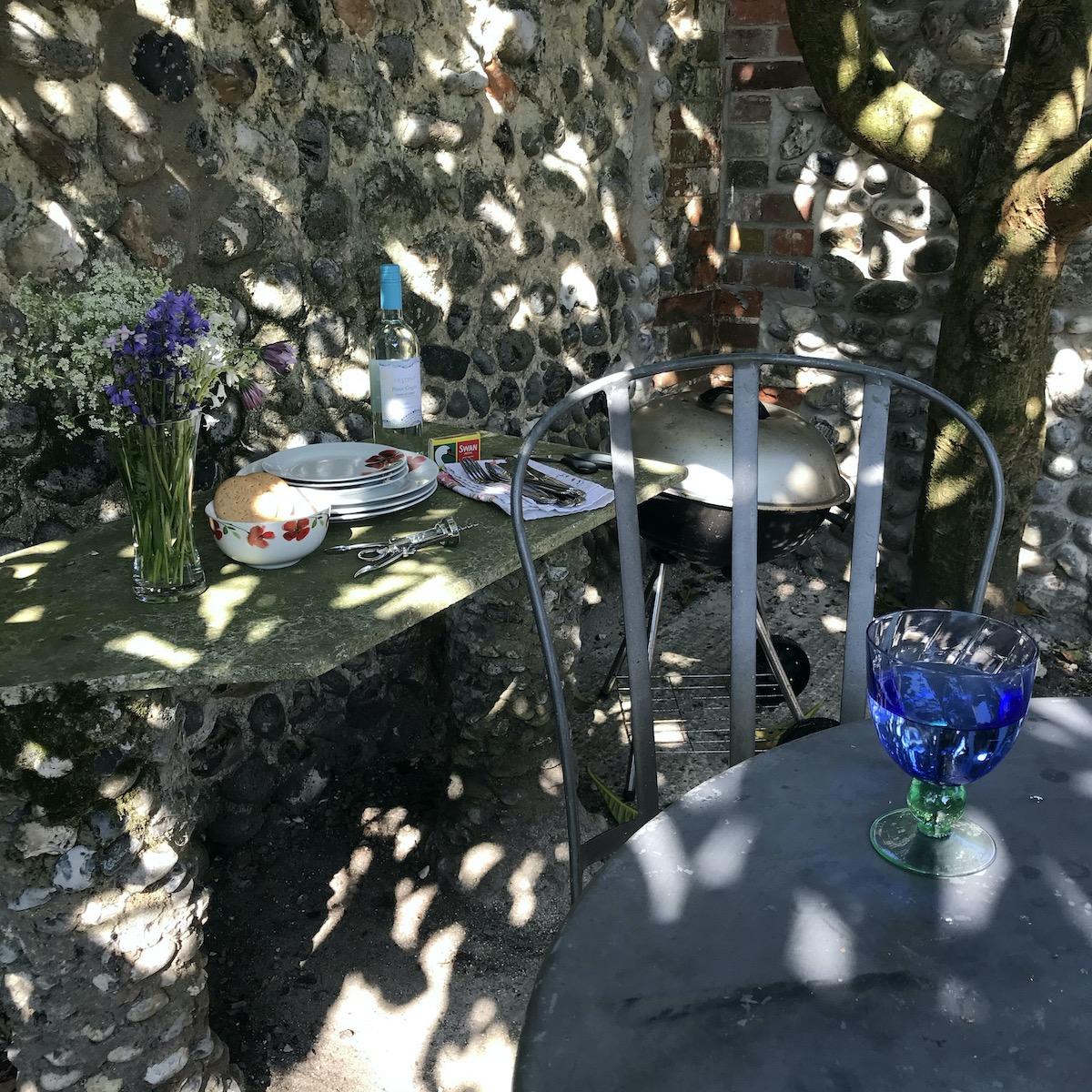 BBA Area under the Louquat Tree