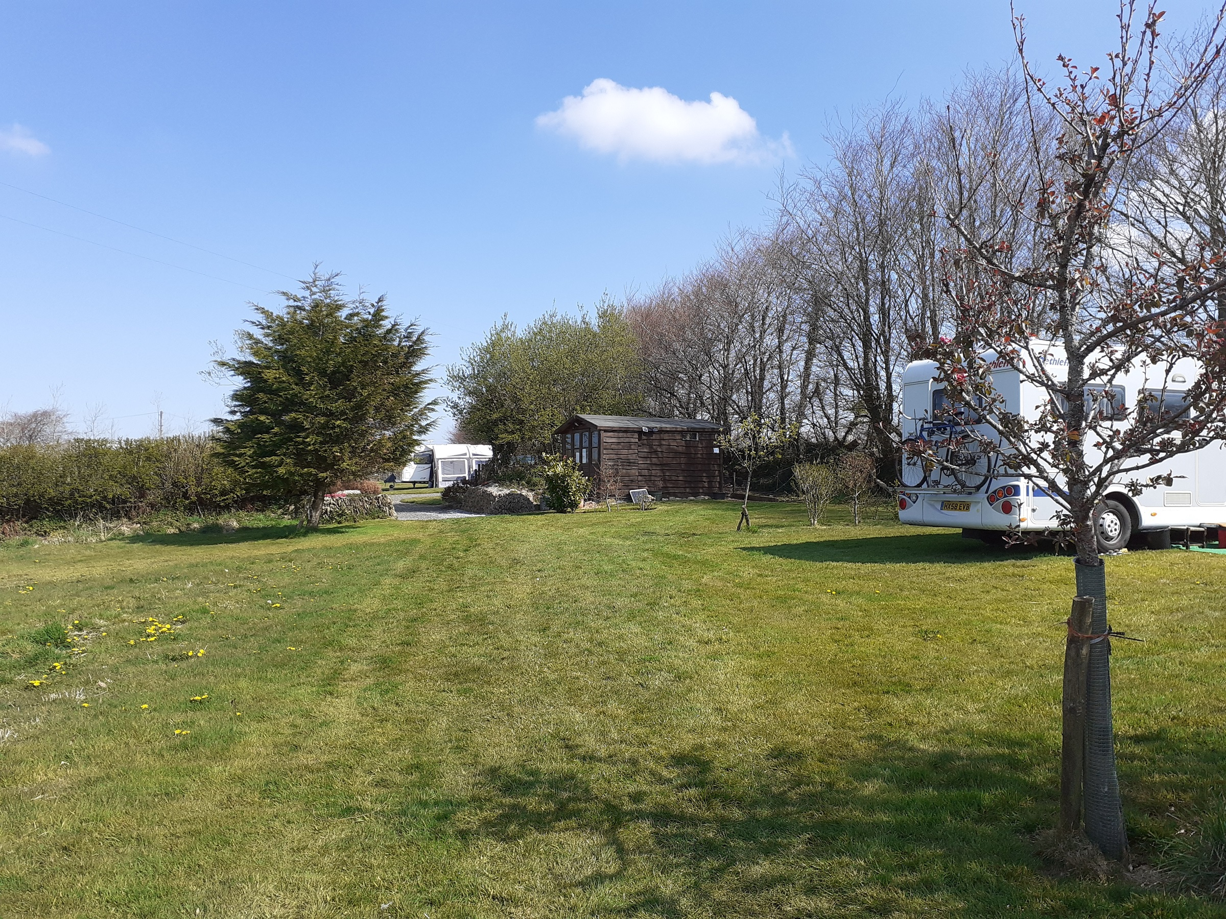 Grass pitch 7 facing west