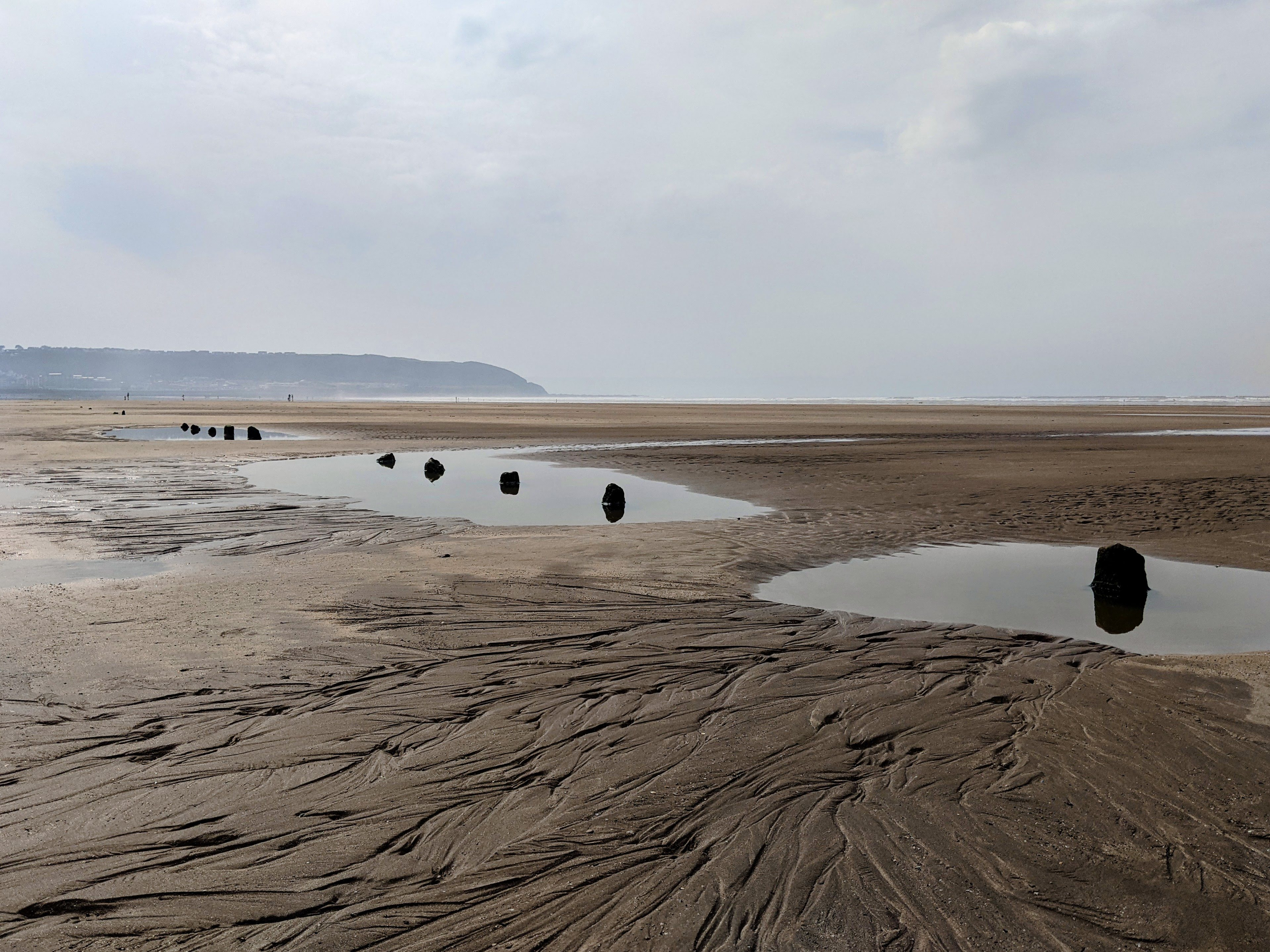 Low tide from Northam Burrows