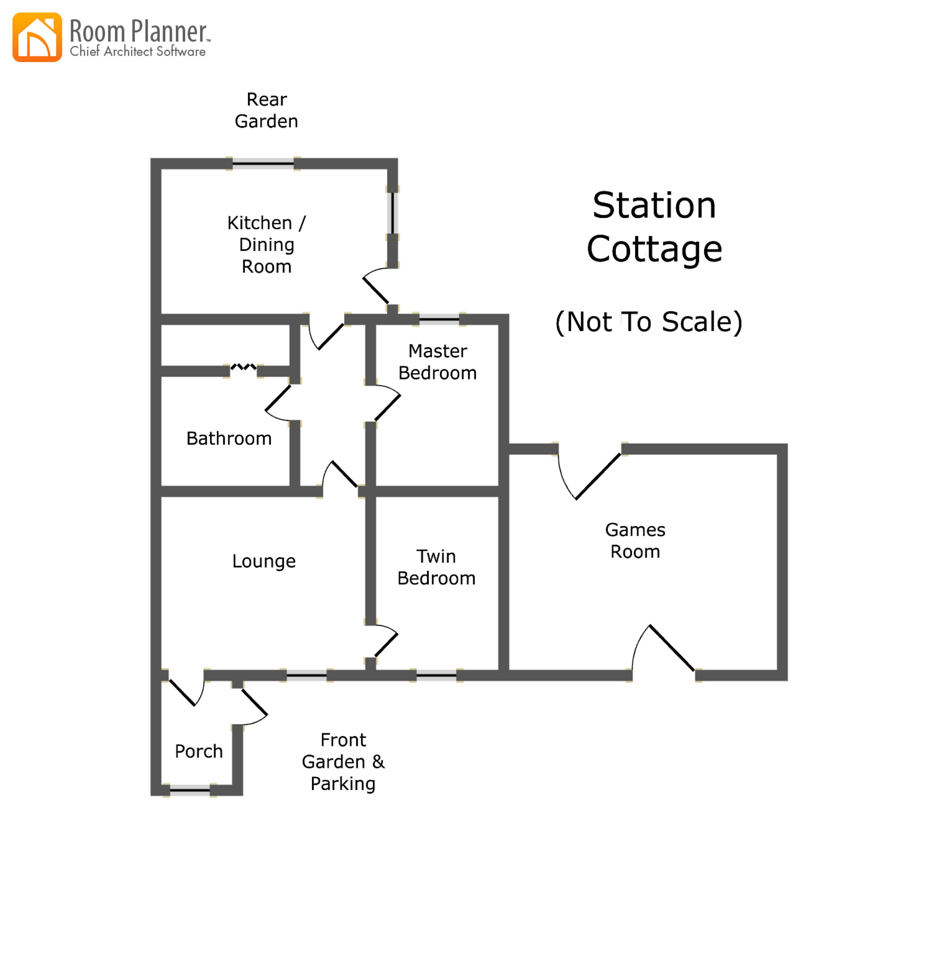Station Cottage plan